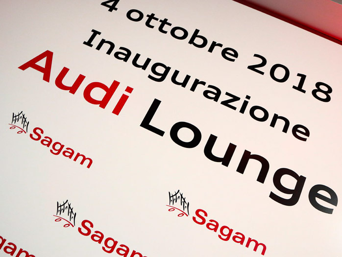 SAGAM INAUGURA IL PRIMO SHOWROOM AUDI INTERAMENTE DIGITALE IN ITALIA